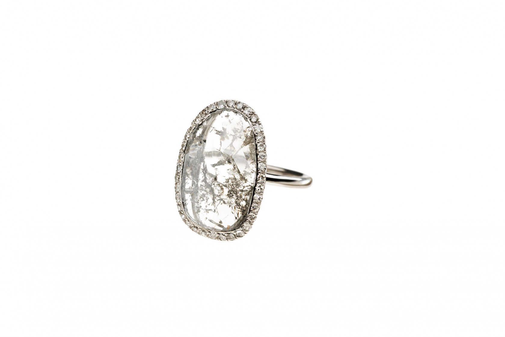 Flat diamond ring ウェルステッド