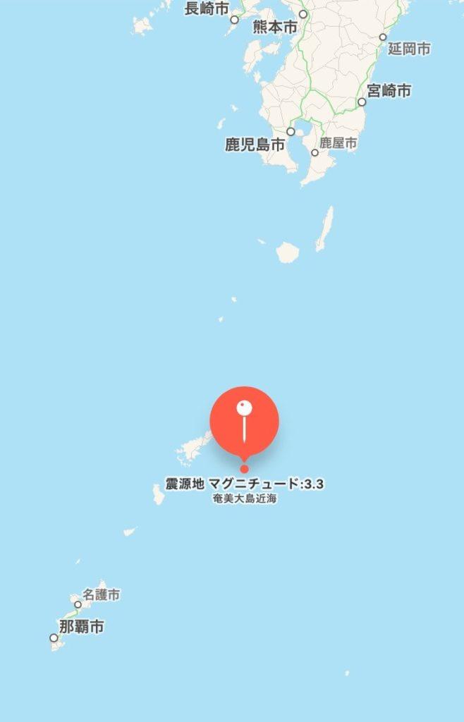 奄美大島近海