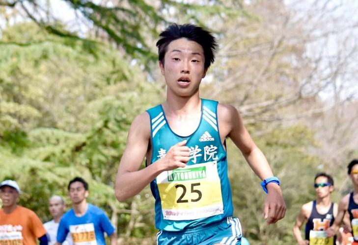 梶谷瑠哉/箱根駅伝2019:青学の2...