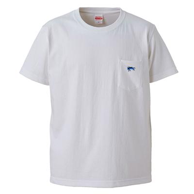 ポケットTシャツ [白]