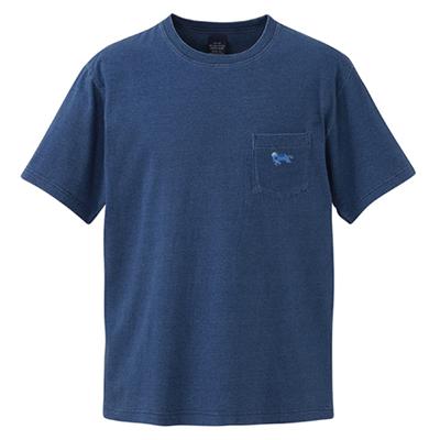 ポケットTシャツ [紺]