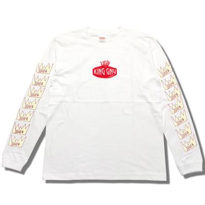 ロングスリーブTシャツ [白]