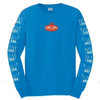 ロングスリーブTシャツ [青]