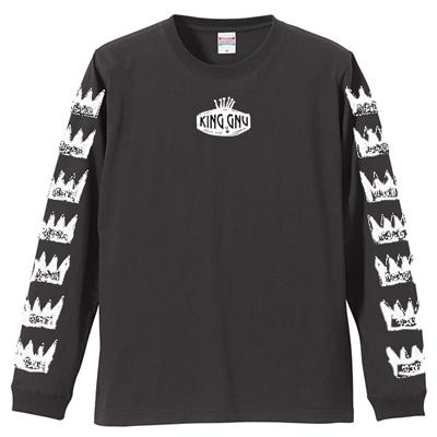 ロングスリーブTシャツ [黒]